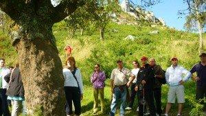 """Andaina musical """"O murmuio da Raíña Lupa"""": roteiros didácticos na contorna do Pico Sacro que se celebrará o 25/04/2015"""