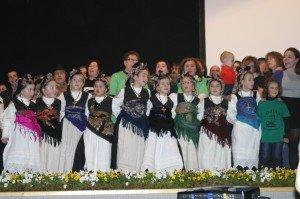 O grupo Loaira aclamado polo público